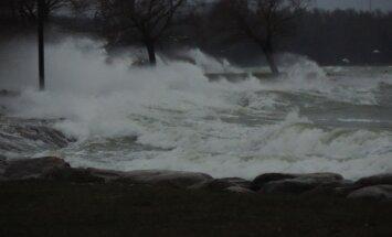 Tugev tuul ja marus meri