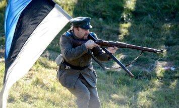 Jõgeval taaselustati Vabadussõja lahing