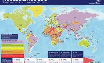 Составлена карта самых опасных мест для туристов