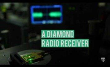 Harvardis ikka osatakse: Teemandist tehti maailma väikseim raadio
