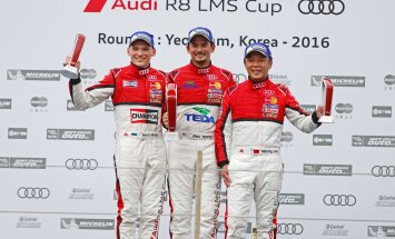 Martin Rump Audi kereautode sarjas taas poodiumil