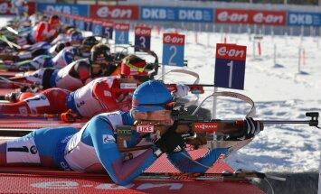 Kolm Eesti noormeest pääsesid laskesuusa MM-il jälitussõitu