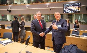 Marko Pomerants koos Austria (ehk ülejärgmise eesistuja) keskkonnaminister
