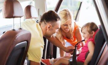Детские автомобильные кресла обеспечивают безопасность
