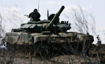 Vene tank õppusel