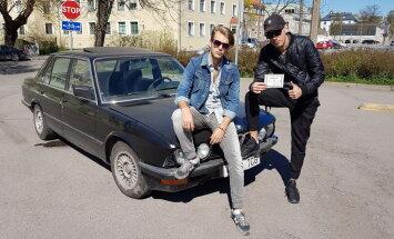 VIDEO: Kanal 2 oksjonisaates lähevad täna müüki eriti vinge retro-BMW, kitarr ja Anne Veski kasukas