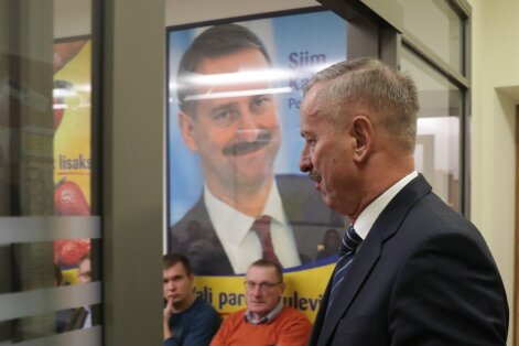 DELFI VIDEO JA FOTOD: Rõivas pidas Kallase kriitikat ning uue erakonna loomise ideega mängimist täiesti ebavajalikuks