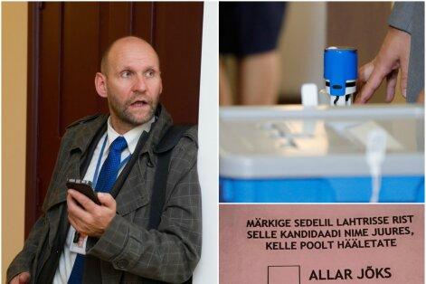 Riigikogu aseesimees saatis valimiskomisjonile pöördumise: kas saadikud tõesti tohivad salajasel hääletusel valimissedeleid pildistada?