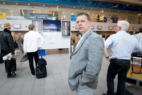 Nordica juhatuse esimees Jaan Tamm ütleb, et reisijate arvu suurenedes saab Nordicast aina tugevam ettevõte.