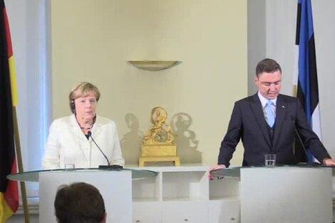 BLOGI, FOTOD ja VIDEOD: Angela Merkel EPLile ja Delfile Brexitist: Britid peavad esitama avalduse, enne ei saa öelda, milliseks suhted kujunevad