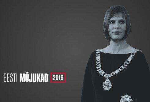 EESTI MÕJUKAD 2016: Millise ühe sõnaga kirjeldavad Eesti inimesed Kersti Kaljulaidi?