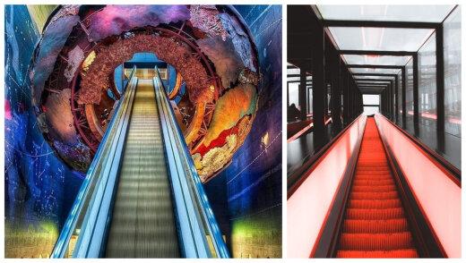 TOP 8 | Maailma kõige erilisemad ja silmapaistvamad eskalaatorid