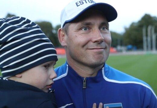 DELFI VIDEO   Gerd Kanter avaldab: poeg Kristjan on üks põhjus, miks pidin karjääri lõpetama