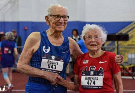 VIDEO   102-aastane vanaproua püstitas 60 meetri jooksus maailmarekordi
