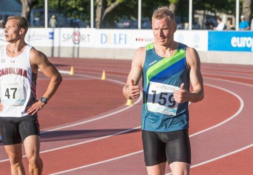 Marek Niit: töö kõrvalt Boltiga võidu ei jookse, eestlastega aga küll