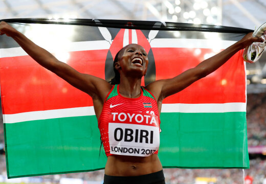 Aafrika soovib korraldada kergejõustiku maailmameistrivõistlusi