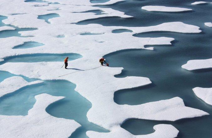 Kas Põhja-Jäämeri muutub paiguti juba Atlandi ookeaniks?