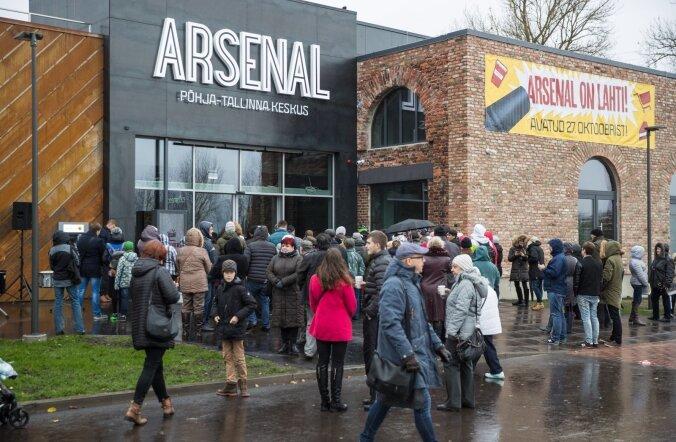 Arsenali keskuse avamine