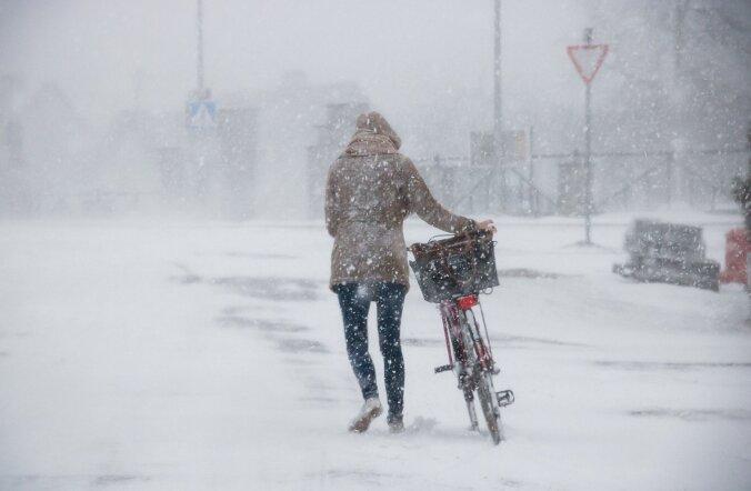 Saaremaale saabus järjekordne talv