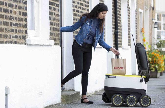 Самое дружелюбное к природе предприятие Эстонии — фирма, запустившая роботов-курьеров