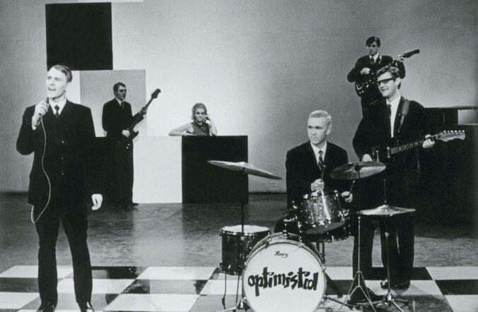 1960. aastate üks legendaarsemaid punte oli Optimistid (Vello Salumets, Neeme Ninnas, Henry Kirsipuu, Toomas Kõrvits, Heigo Mirka), keskel Alice Talvik 1967. aastal ETV noortetuudios