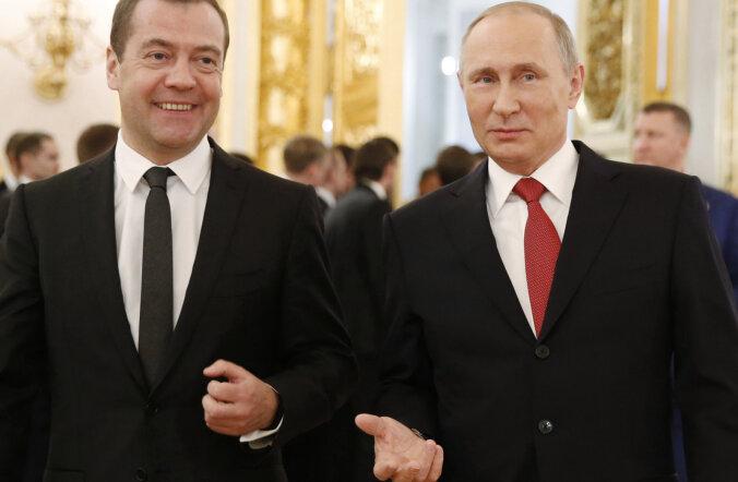 Путин и Медведев отчитались о доходах за 2016 год