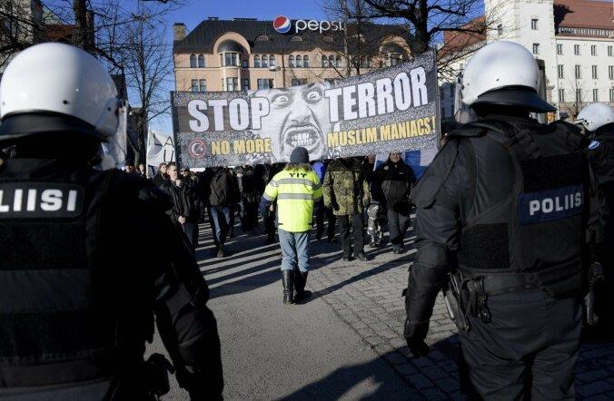 Helsingis lasti varjupaigataotlejale gaasi näkku, olukorras osales ka kohalike valimiste kandidaat