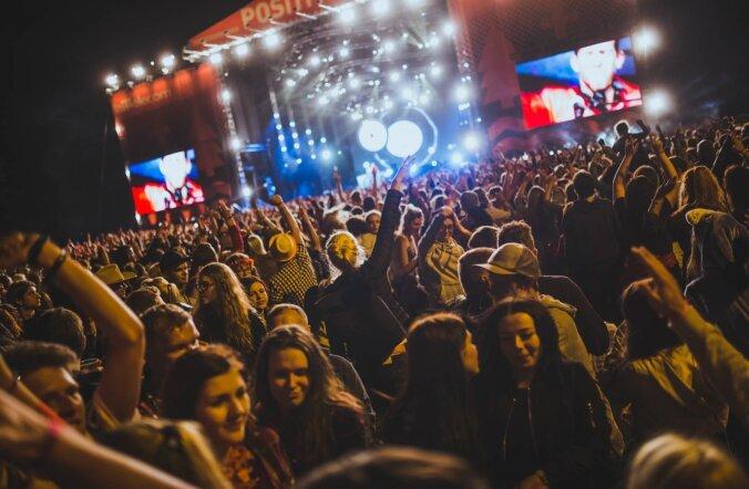 Positivus Festival 2016 esimene päev