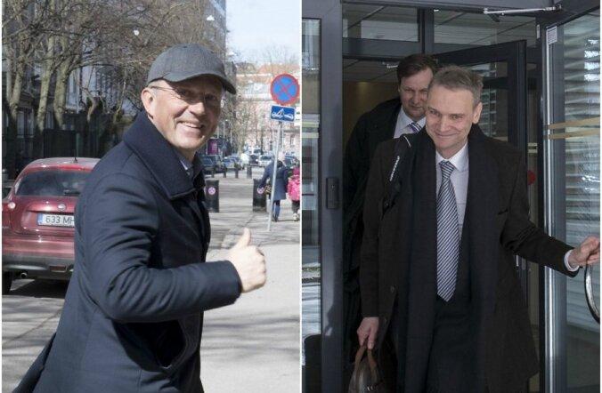 В Харьюском уездном суде рассматривают спор двух крупных эстонских бизнесменов