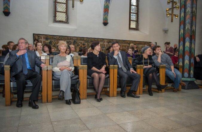 Kuldne Mask Eestis 2014 vastuvõtt Raekojas