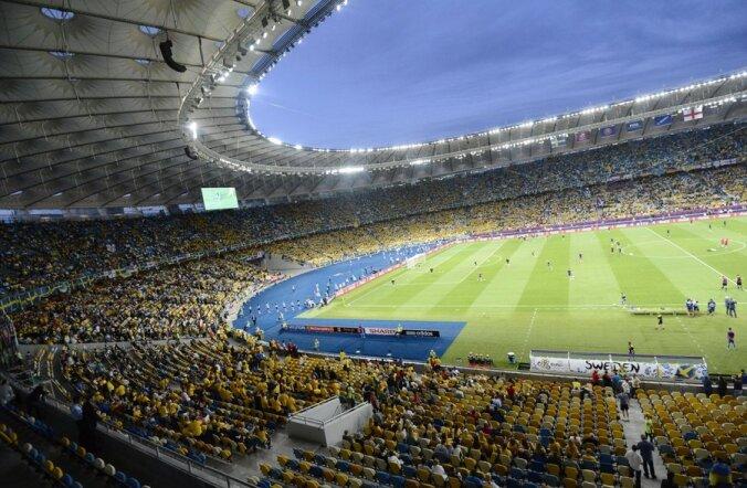 Ukraina kaotusest vihane fänn lubas olümpiastaadioni õhkida