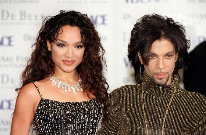 Prince ja Mayte Garcia aastal 1999