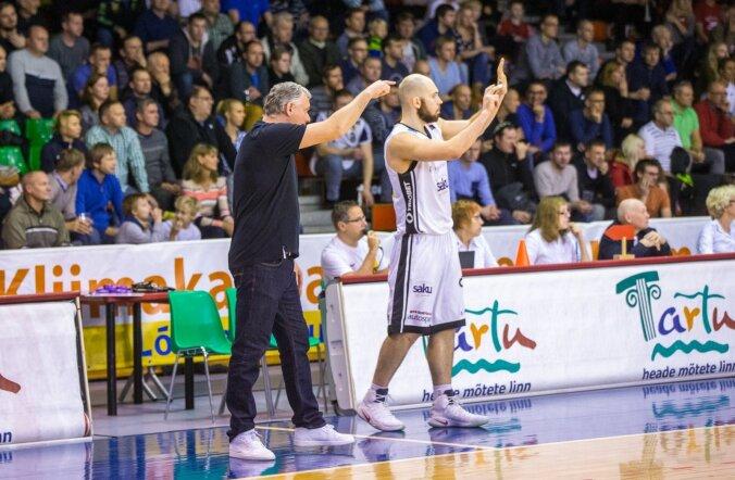 Tartu Ülikooli korvpallimeeskonna peatreener Gert Kullamäe
