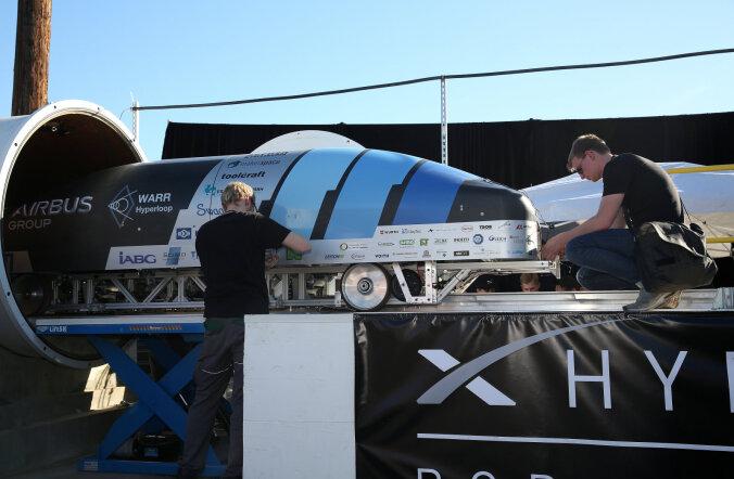 Tallinn-Helsingi Hyperloopi lahendus valiti üleilmsel konkursil 35 perspektiivikama hulka
