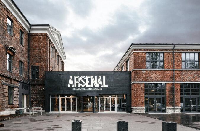 Arsenali keskus startis teise etapi ehitustöödega