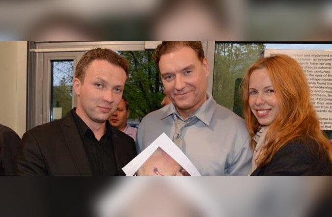 FOTOD: Mart Sanderi kunstigalerii avamine tõi kokku eliidi