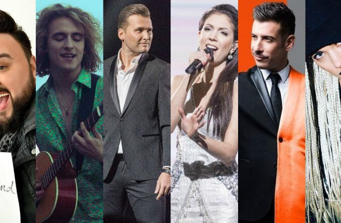 SUUR ÜLEVAADE: Need 43 pala võtavad omavahel mõõtu Kiievis toimuval Eurovisionil