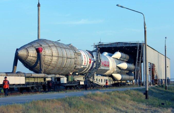 Vene kanderaketi ebaõnnestumine muutis kallid satelliidid kosmoseprahiks