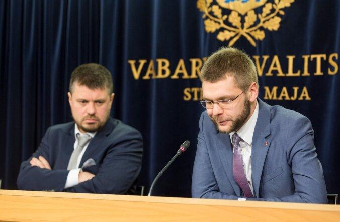 Urmas Reinsalu ja Jevgeni Ossinovski