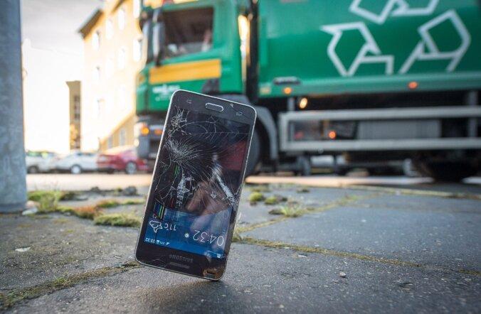 Seitse põhjust, miks eestlase nutitelefon katki läheb
