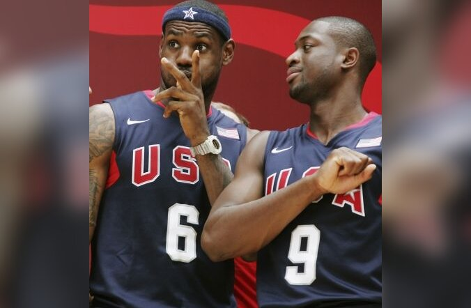 LeBron James ja Dwyane Wade