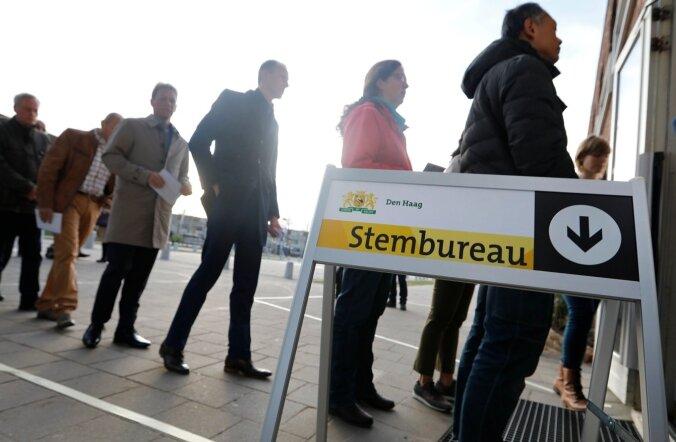 Valimiste eelsel päeval ei teadnud täpset eelistust veel 2/3 Hollandi valijatest