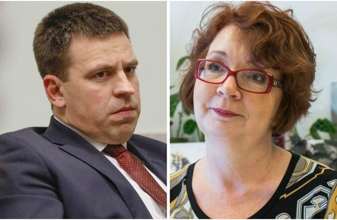 Jüri Ratas ja Yana Toom