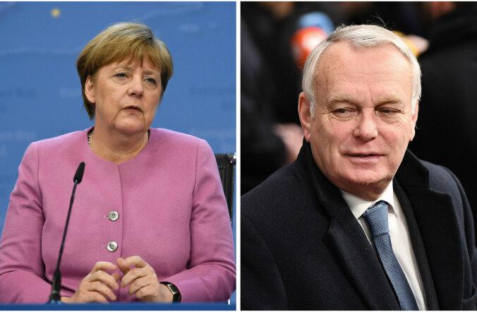 Saksamaa ja Prantsusmaa asusid tülis Türgiga Hollandi selja taha