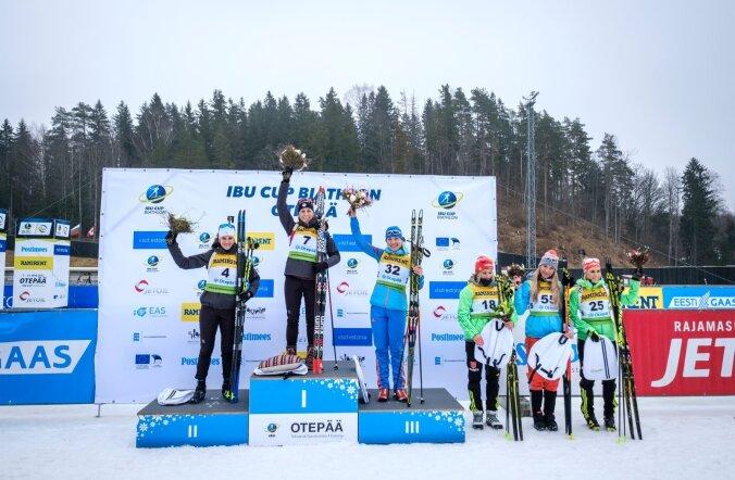 IBU Otepää etapi naiste sprindivõistluse parimad