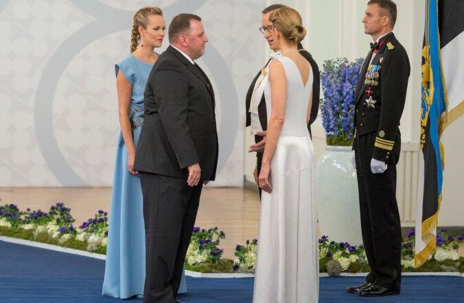 Rahandusminister Sven Sester ja pr Kairi Sester
