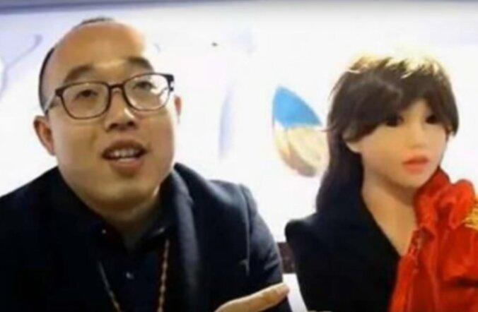 Hiina naistepõua tulemus: insener ehitas valmis roboti ja abiellus sellega