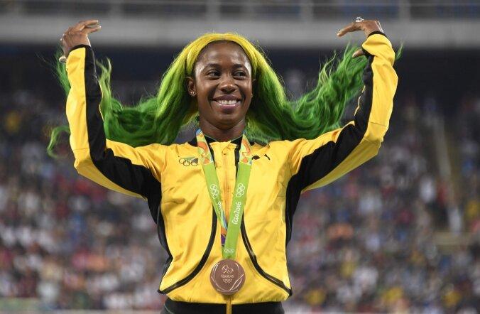 Kahekordne olümpiakuld Shelly-Ann Fraser-Pryce
