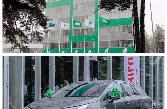 Merko premeerib oma parimaid koostööpartnereid uhiuue Toyotaga