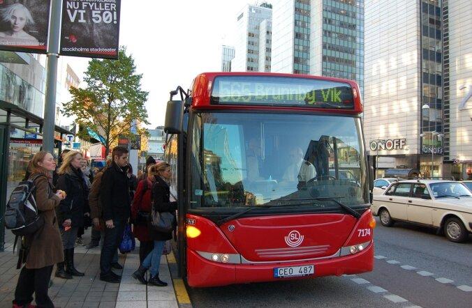 Arriva teenindabStockholmis linna ühistranspordi liine.